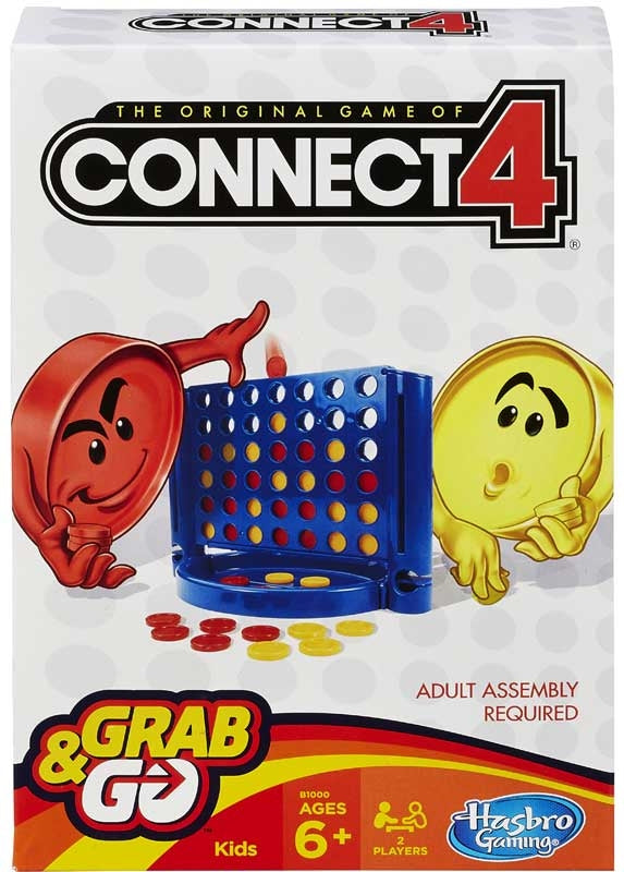 Connect 4 Travel Grab And Go