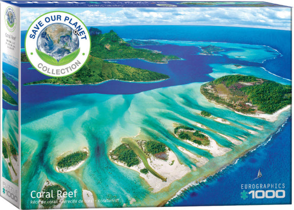 Coral Reef 1000 Piece Puzzle by Eurographics