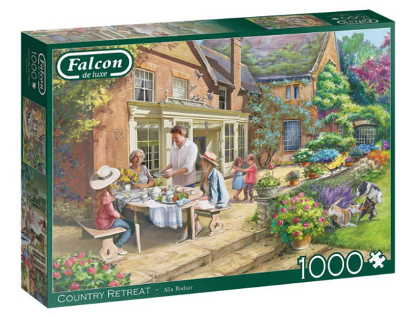 Country Retreat 1000 Piece Puzzle by Falcon