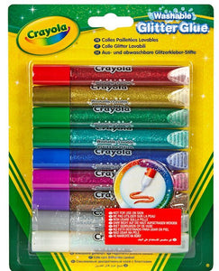 Crayola 9 Washable Glitter Glue
