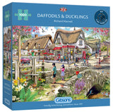 Daffodils and Ducklings 1000 Piece Puzzle By Gibsons