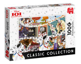 Disney Classic Collection 101 Dalmations 1000 Piece Puzzle by Jumbo