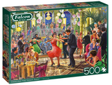 Dancing The Night Away by Steve Crisp 500 Piece Puzzle by Falcon
