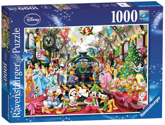 Disney Christmas All Aboard 1000 Piece Puzzle by Ravensburger