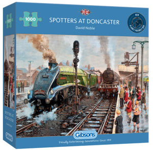 Spotters At Doncaster 1000 Piece Puzzle By Gibsons