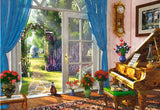 Doorway Room View 1000 Piece Jigsaw Puzzle by Castorland