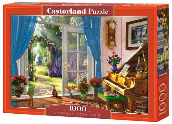 Doorway Room View 1000 Piece Jigsaw Puzzleby Castorland