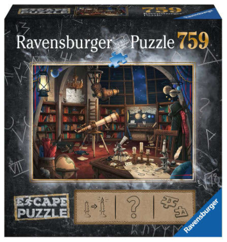 Escape Puzzle 759 Piece Space Observatory by Ravensburger