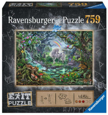 Escape Puzzle 759 Piece Unicorns by Ravensburger