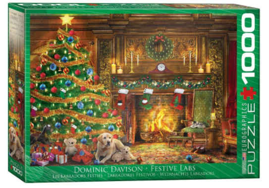 Festive Labs 1000 Piece Puzzle by Eurographics