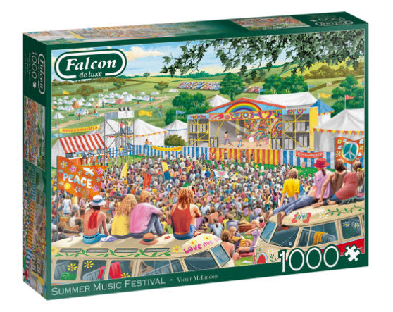 Summer Music Festival 1000 Piece Puzzle by Falcon