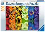 Floral Reflections 500 Piece Puzzle by Ravensburger