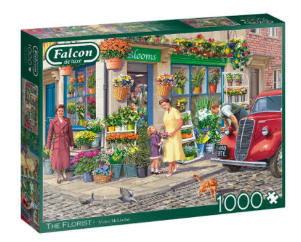 The Florist 1000 Piece Puzzle by Falcon