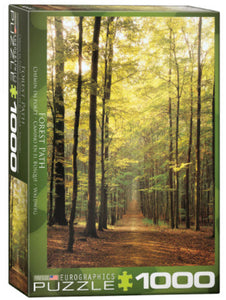 Forest Path 1000 Piece Puzzle by Eurographics