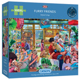 Furry Friends 500 XL Piece Puzzle By Gibsons