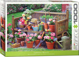 Garden Bench 1000 Piece Puzzle by Eurographics