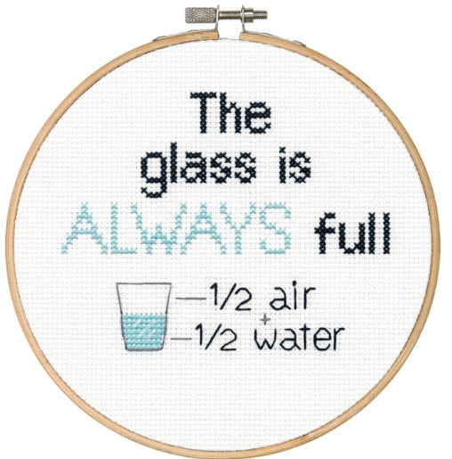 Full Glass Dimensions Counted Cross Stitch 6