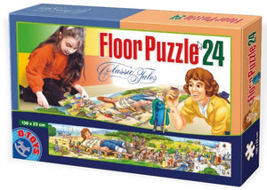 Giant Ground Puzzle - Gulliver 24 Piece Jigsaw Puzzle by D-Toys