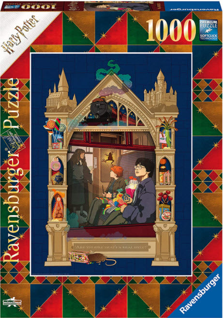 Harry Potter On The Way To Hogwarts 1000 Piece Puzzle by Ravensburger