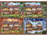 House of Four Seasons 2000 Piece Puzzle by Schmidt