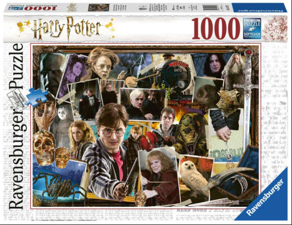 Harry Potter VS Voldermort 1000 Piece Puzzle by Ravensburger