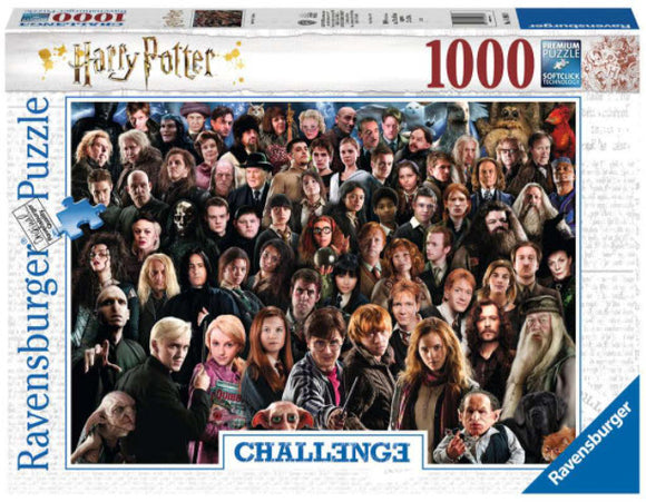 Harry Potter Challenge 1000 Piece Puzzle by Ravensburger