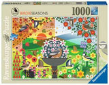 I Like Birds-Birdie Seasons 1000 Piece Puzzle by Ravensburger
