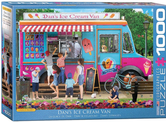 Dan's Ice Cream Van 1000 Piece Puzzle by Eurographics