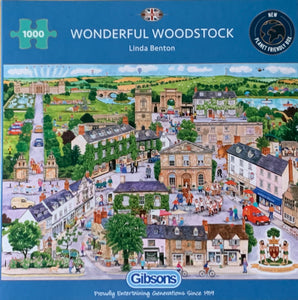Wonderful Woodstock 1000 Piece Puzzle By Gibsons