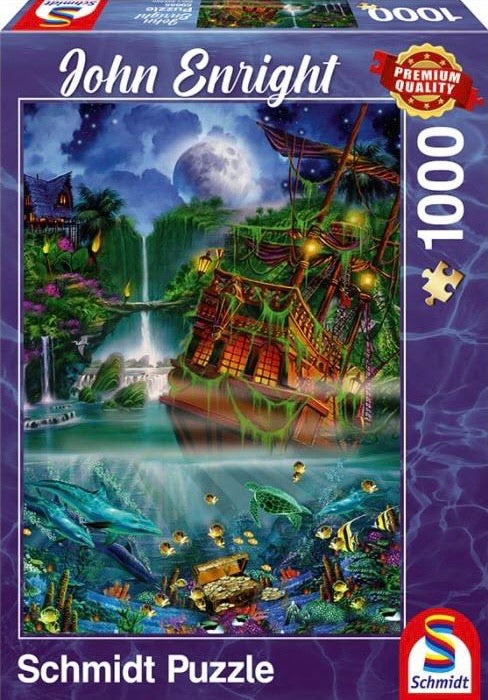 John Enright – Sunken Treasure 1000 Piece by Schmidt