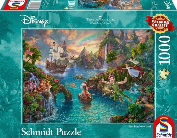 Thomas Kinkade-Disney: Peter Pan 1000 Piece Puzzle by Schmidt