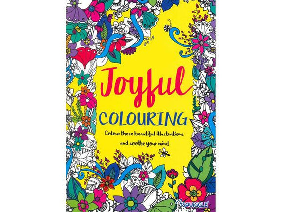 Joyful Colouring Book
