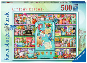 Kitschy Kitchen (By Aimee Stewart) 500 Piece Puzzle by Ravensburger