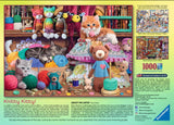 Knitty KItty 1000 Piece Puzzle by Ravensburger