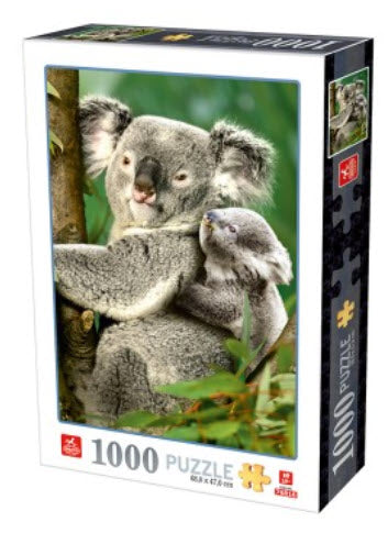 Koala Bears 1000 Piece Puzzle by D-Toys