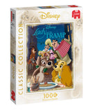 Disney Classic Collection Lady & The Tramp 1000 Piece Puzzle by Jumbo