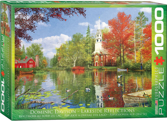 Lakeside Reflection (Dominic Davison) 1000 Piece Puzzle by Eurographics