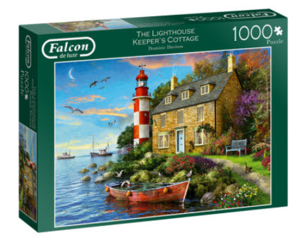 The Lighthouse Keeper's Cottage 1000 Piece Puzzle by Falcon