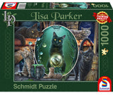 Lisa Parker Mystical Cats 1000 Piece Puzzle by Schmidt