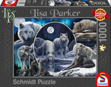 Lisa Parker Magnificent Wolves 1000 Piece Puzzle by Schmidt