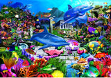 Lost Undersea World 1000 Piece Puzzle by Bluebird Puzzle
