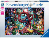 Almost Everyone is Mad (Alice in Wonderland) 1000 Piece Puzzle by Ravensburger