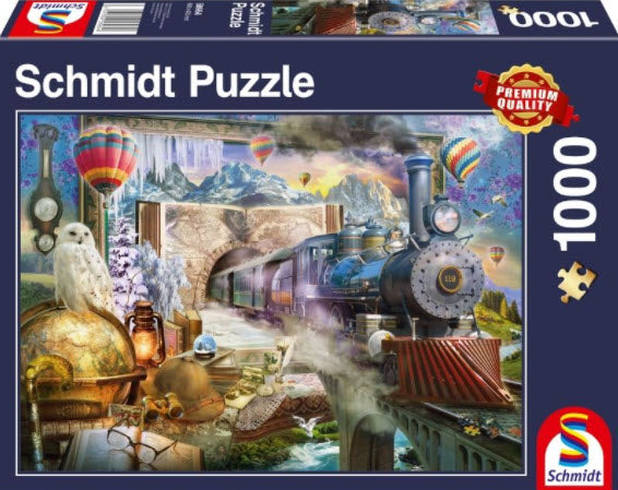 **NEW** The Magical Journey 1000 Piece Puzzle by Schmidt