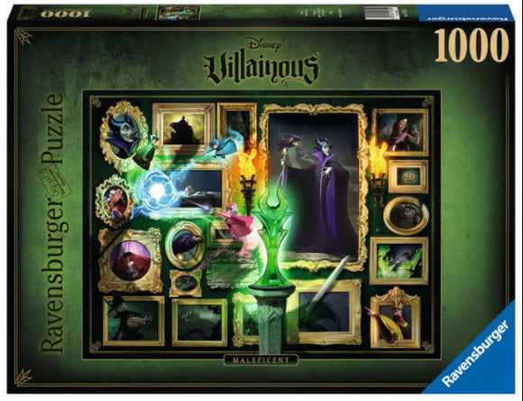 Disney Villainous Maleficent 1000 Piece Puzzle by Ravensburger