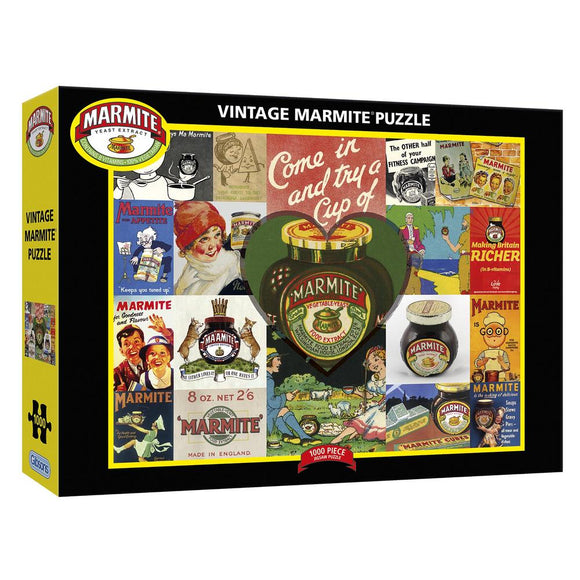 Vintage Marmite 1000 Piece Puzzle By Gibsons