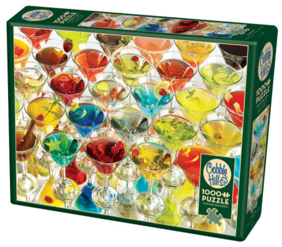 Martinis! 1000 Piece Puzzle by Cobble Hill Puzzles