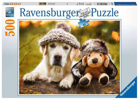 Me and My Pal 500 Piece Puzzle By Ravensburger