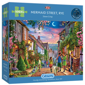 Mermaid Street 500 XL Piece Puzzle By Gibsons