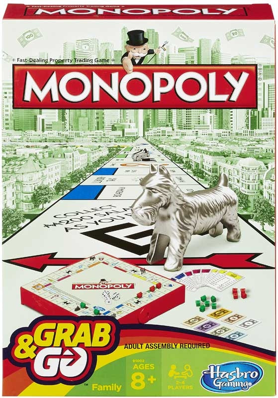 Monopoly Travel Grab And Go
