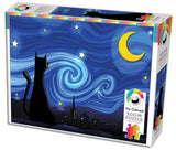 Mrowwy Night 500 Piece Puzzle by Cobble Hill Puzzles